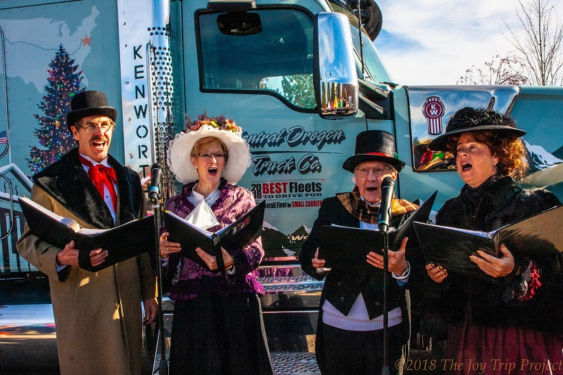 Central Oregon Truck Company was this year's designated hauler of the U.S. Capitol Christmas...