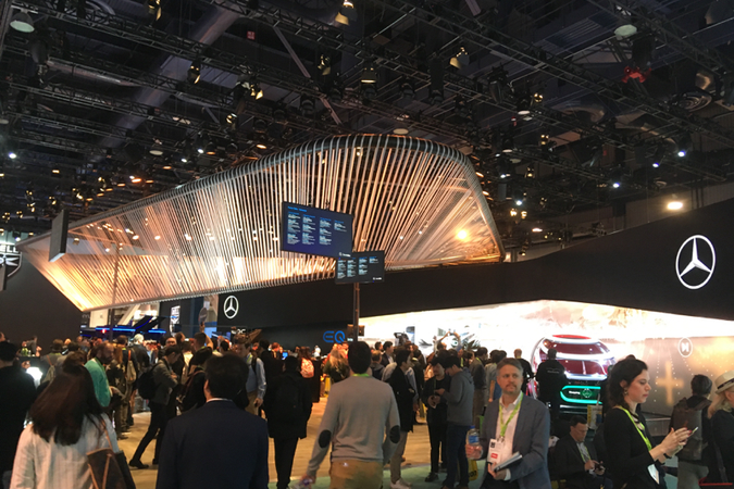 Photos From the Floor of CES
