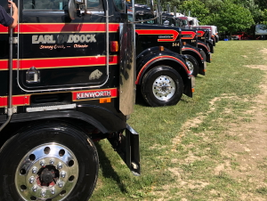 A few of Earl Paddock's working fleet made it to Clifford this year.