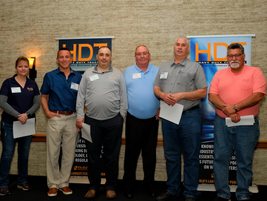 A handful of attendees won one-year memberships to the ATA's Technology and Maintenance Council.
