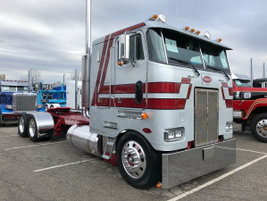 1987 Peterbilt 362 owned by Donovan Transport of Gordonville, Pa.