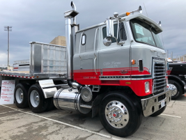 1980 International Transtar II Eagle owned by Gibbs Farms of Detroit, Texas