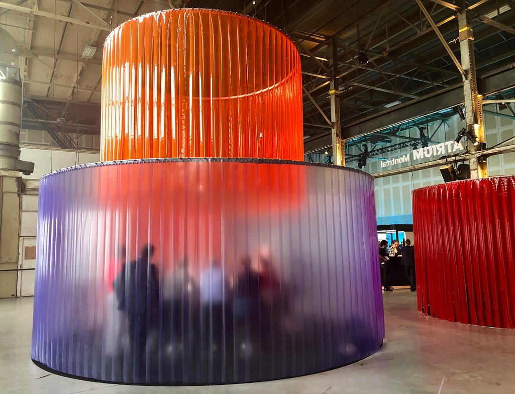 Where the corner office is round and looks like you're meeting in a shower— or perhaps inside a...