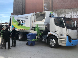 Quebec-based electric truck maker Lion and body builder Boivin Évolution showed off their Class...