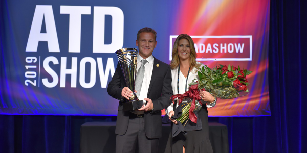This year's Truck Dealer of the Year winner Trey Mytty, president and CEO of Truck Center...