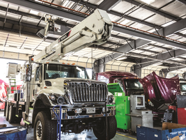 Cumberland International Trucks has an in-house trainer to ensure its technicians are up to date...