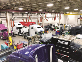 Technology has helped make the repair process more efficient at Kriete Group locations.