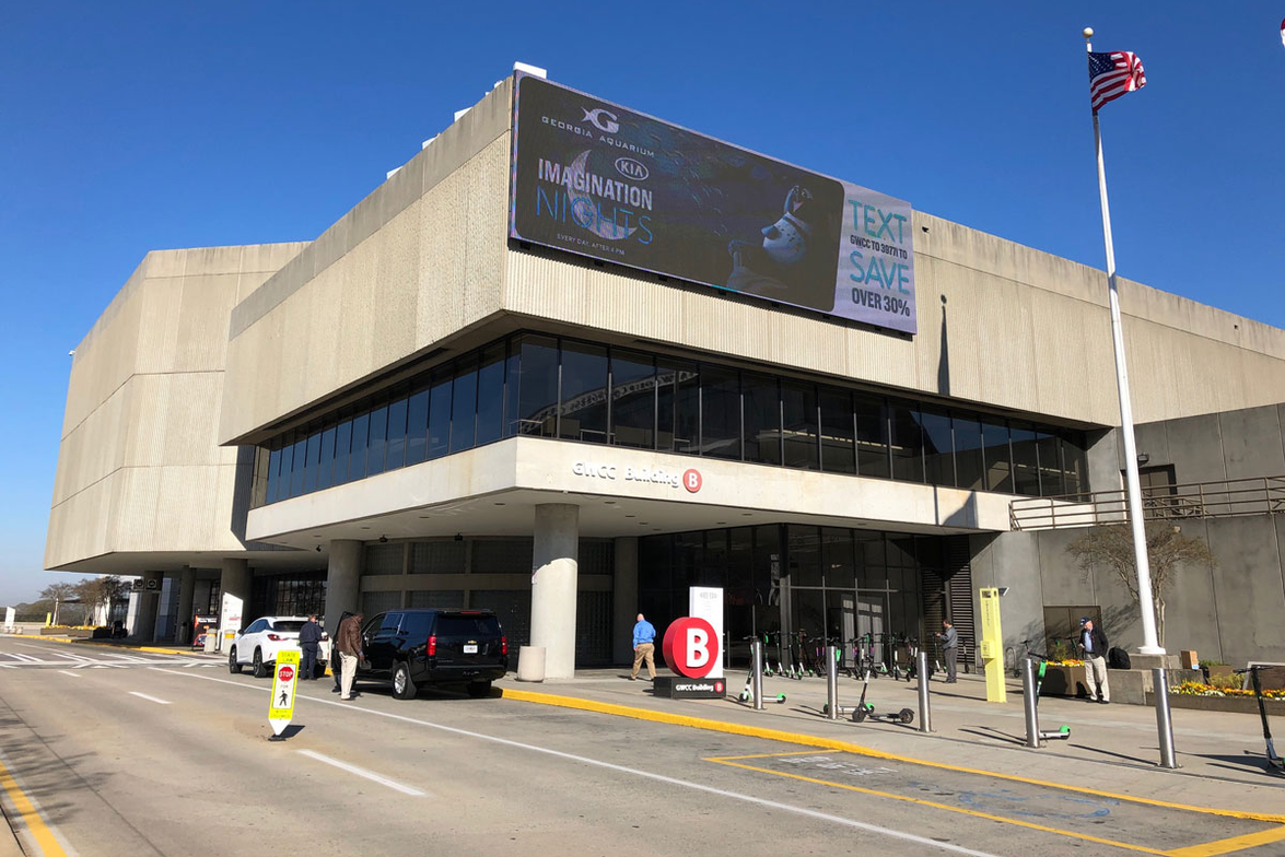 The Georgia World Congress Center in Atlanta is home to this year's TMC annual meeting.