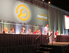 Panel discussions looked at current and future maintenance and technology challenges.