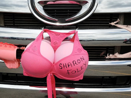 It's not clear if this was was a tribute or a testament to the fighters. There were eight bras...