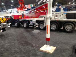 """Massive"" is a good word to describe many concrete pumpers. That applies to extendable,..."
