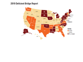 States with the largest number of structurally deficient bridges are: Iowa (4,675 bridges);...