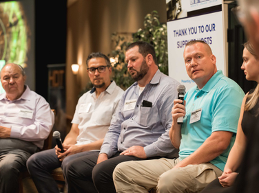 HDT Truck Fleet Innovators spoke in a panel discussion about thinking outside the box to improve...
