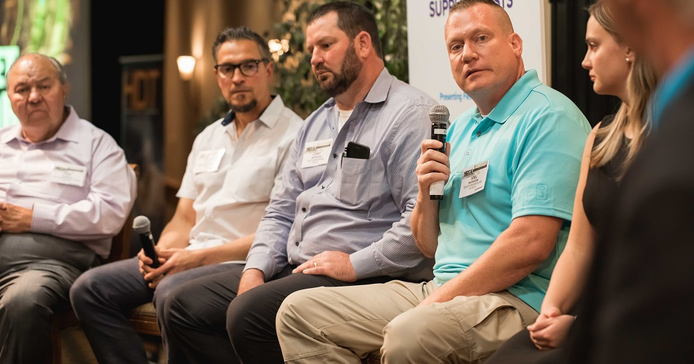 HDT Truck Fleet Innovators spoke in a panel discussion about thinkingoutside the box to improve...