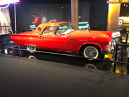 The stunning 1955 Thunderbird was Ford's answer to the Chevrolet Corvette.