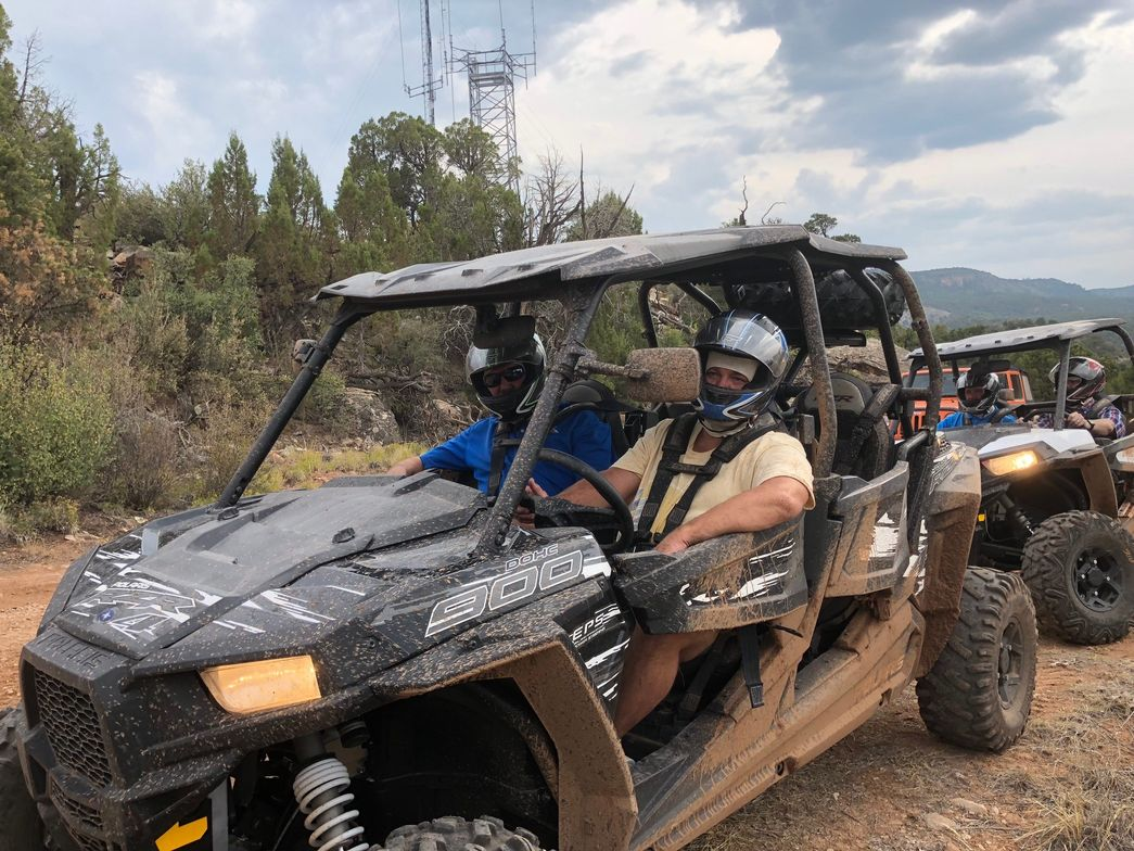 A long ATV ride through the High Desert near Moab, Utah, was a treat courtesy of Peterbilt.