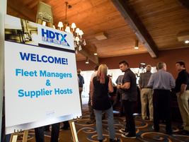 The Heavy Duty Trucking Exchange took place at the McCormick Ranch outside Phoenix, Arizona.