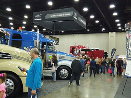 Despite Daimler's absence, Western Star had a few trucks on the floor this year, thanks to a...
