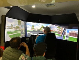 Driving simulators always attract a crowd. A good training tool, the simulators also provide...