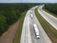 The rigs have been undergoing testing on an 18-mile stretch of North Carolina turnpike since...
