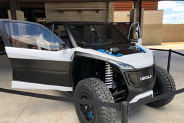 Nikola Goes Off-Road and Off-Land with Motorsports Vehicles [Photos]