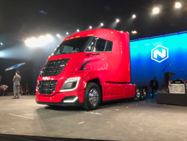 The company says there are currently more than 13,000 Nikola trucks on order. But the first ones...