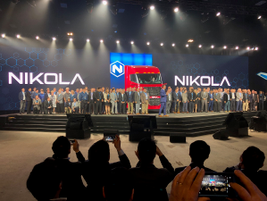 Nikola showed off its original team – and what it's grown to today.