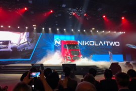 Hydrogen Stars at Nikola World Unveiling [Photos]