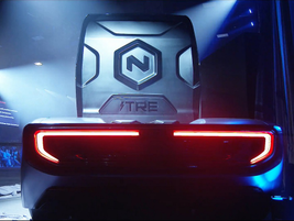 The Nikola Tre is the version of the truck being developed for Europe.