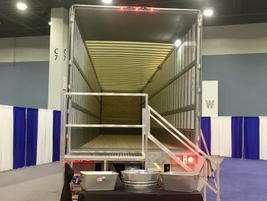 Strick built this heavy-duty 53-foot van specifically to stand up to the abuse of the...