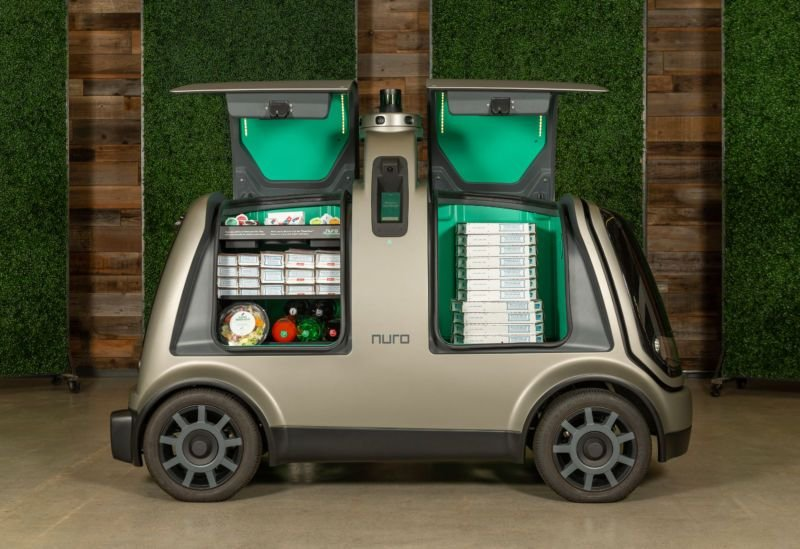 Domino's will begin delivering pizza using self-driving robots in the Houston area later this...