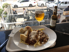 Traveler's Tip: You can always find good Italian food in Europe, no matter where you are -- like...