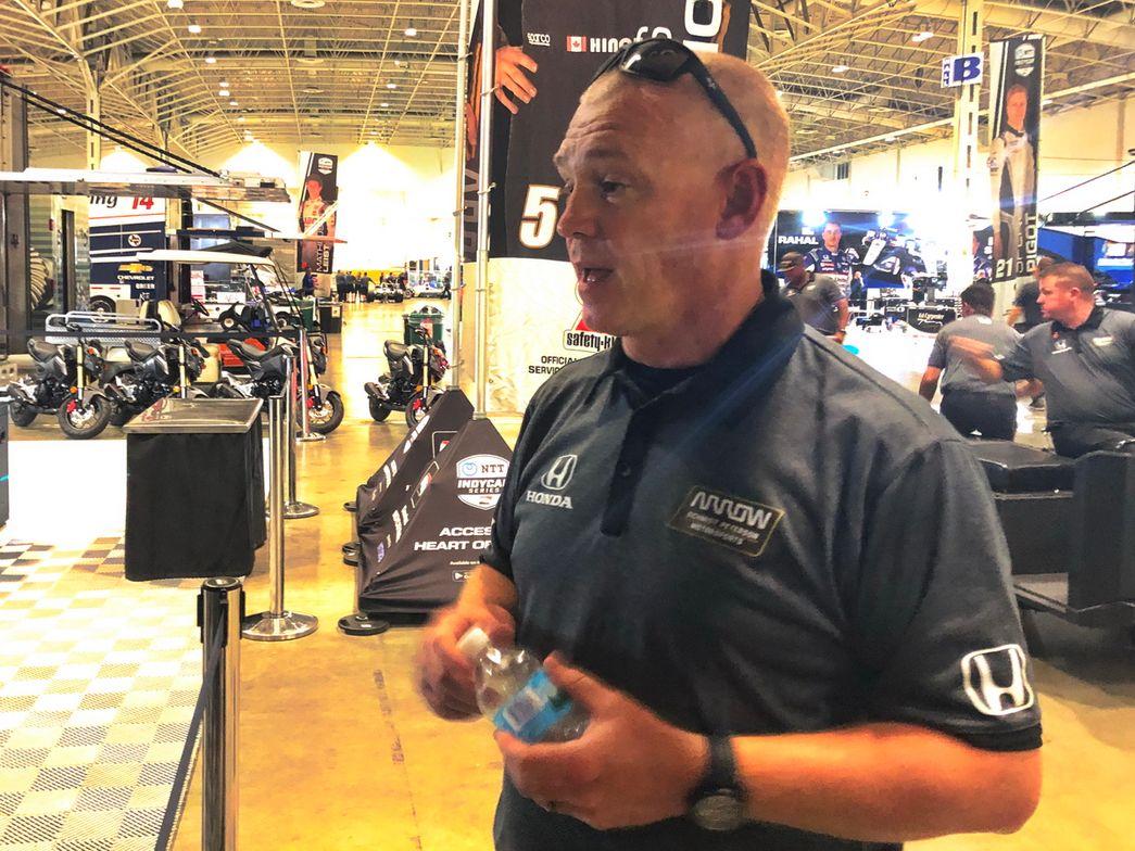 Jeff Darks, vice president of marketing, Arrow Schmidt Peterson Motorsports Team.