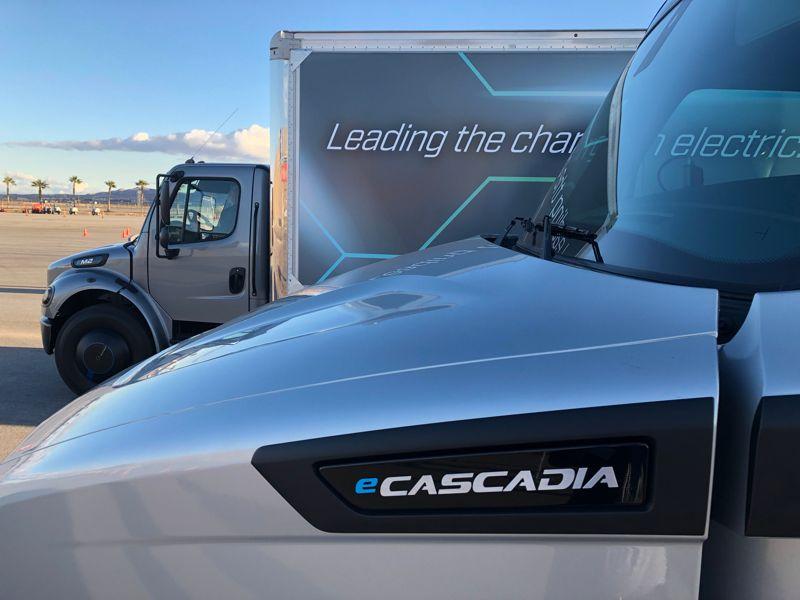 Daimler's Innovation Fleet will include 10 eCascadias and 10 eM2 medium-duty trucks. Development...