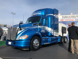 Kenworth and Toyota are collaborating to develop 10 zero-emission Kenworth T680s powered by...