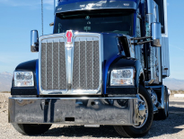 Kenworth's new long-hood conventional W990 was inspired by the heritage of its classic W900 truck.