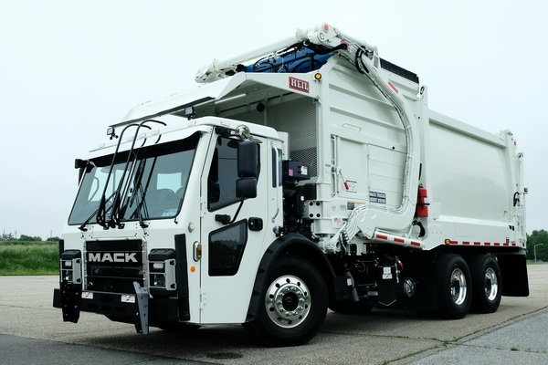 This was my first test drive of a refuse truck, and I came away impressed with not only how well...