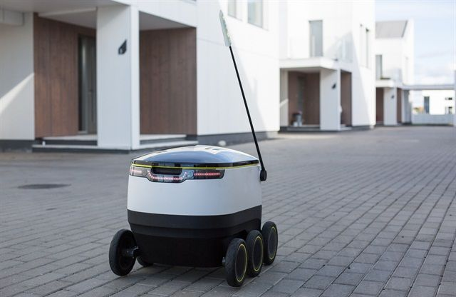 Launched by former Skype co-founders,Starship Technologies plans tointroduce fleets of small...