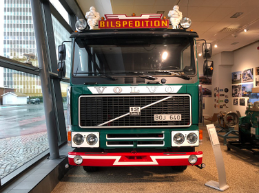 The Volvo Museum in Gothenburg, Sweden contains vehicles of all types from the company's history...