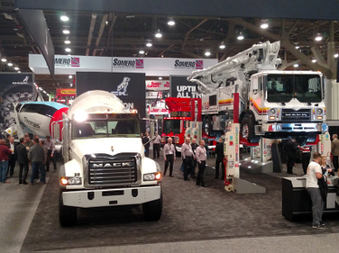 The World of Concrete is an annual show in Las Vegas. On display are, among thousands of other...