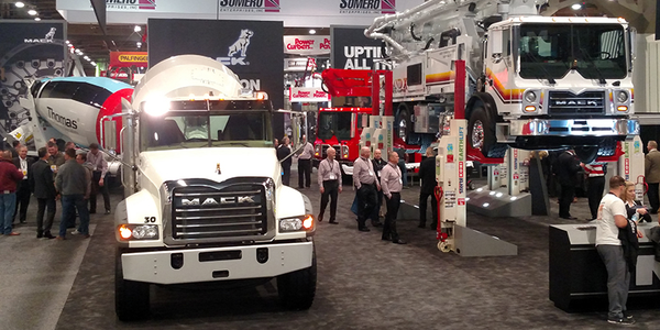 The annual show in Las Vegas is the World of CONCRETE, and what's displayed are, among thousands...