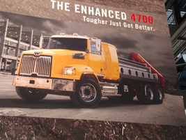 Western Star announced enhancements to its popular 4700 model, including a newly available...
