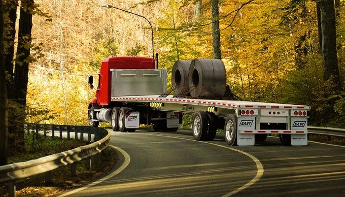 The Road Ready trailer telematics system from Truck-Lite is now an optional feature available on all East flatbed, dump and refuse trailers.