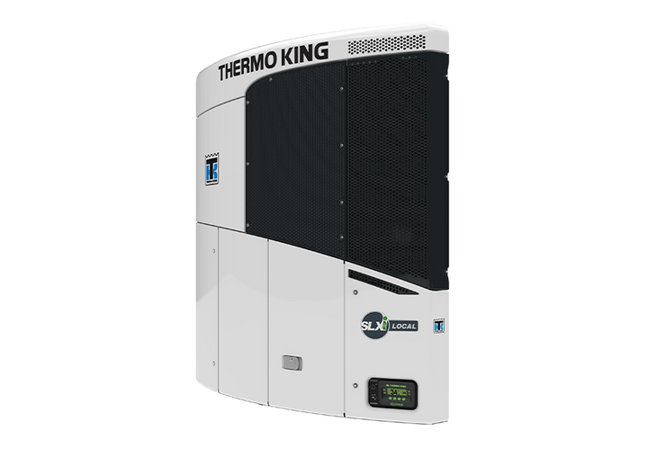 Thermo King's SLXi Local transport refrigeration unit (TRU)  is designed to be up to 200 pounds lighter than comparable TRUs to increase payload capacity. - Photo: Thermo King