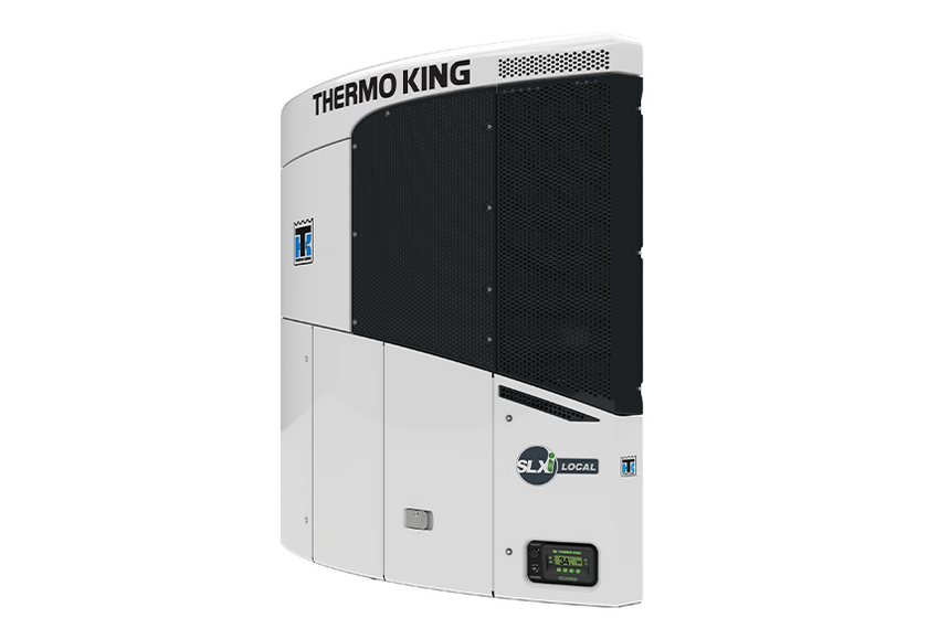 Thermo King's SLXi Local transport refrigeration unit (TRU)  is designed to be up to 200 pounds...