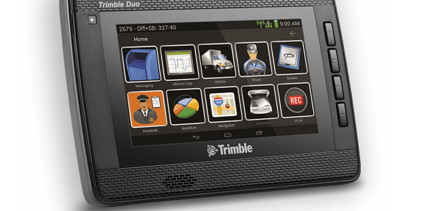 The Trimble Duo is an Android-powered device that combines an in-cab display with 4G-LTE...