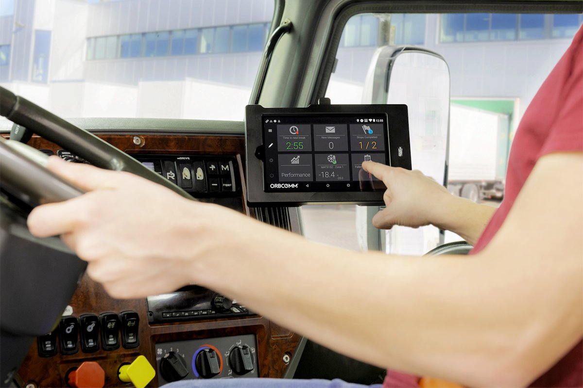 Orbcomm Integrates ELD Software with Samsung Tablets