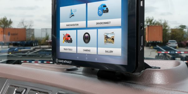 Rand McNally Launches Advanced Truck Tablet with Improved Navigation
