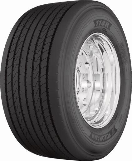 Yokohama114R ultra wide-base tire. - Yokohama Tire
