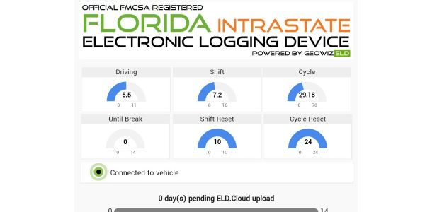 Geospace Labs. Launches Florida-Specific Intrastate ELD